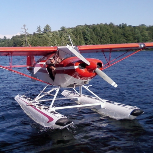 This is an awesome plane for float training
